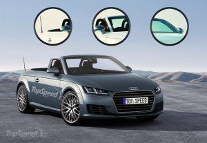 2015 Audi Tt Roadster Convertible Top HD Wallpaper