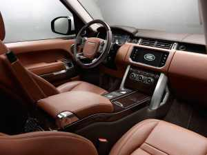 2015 Range Rover Sport Interior 1080p Wallpaper