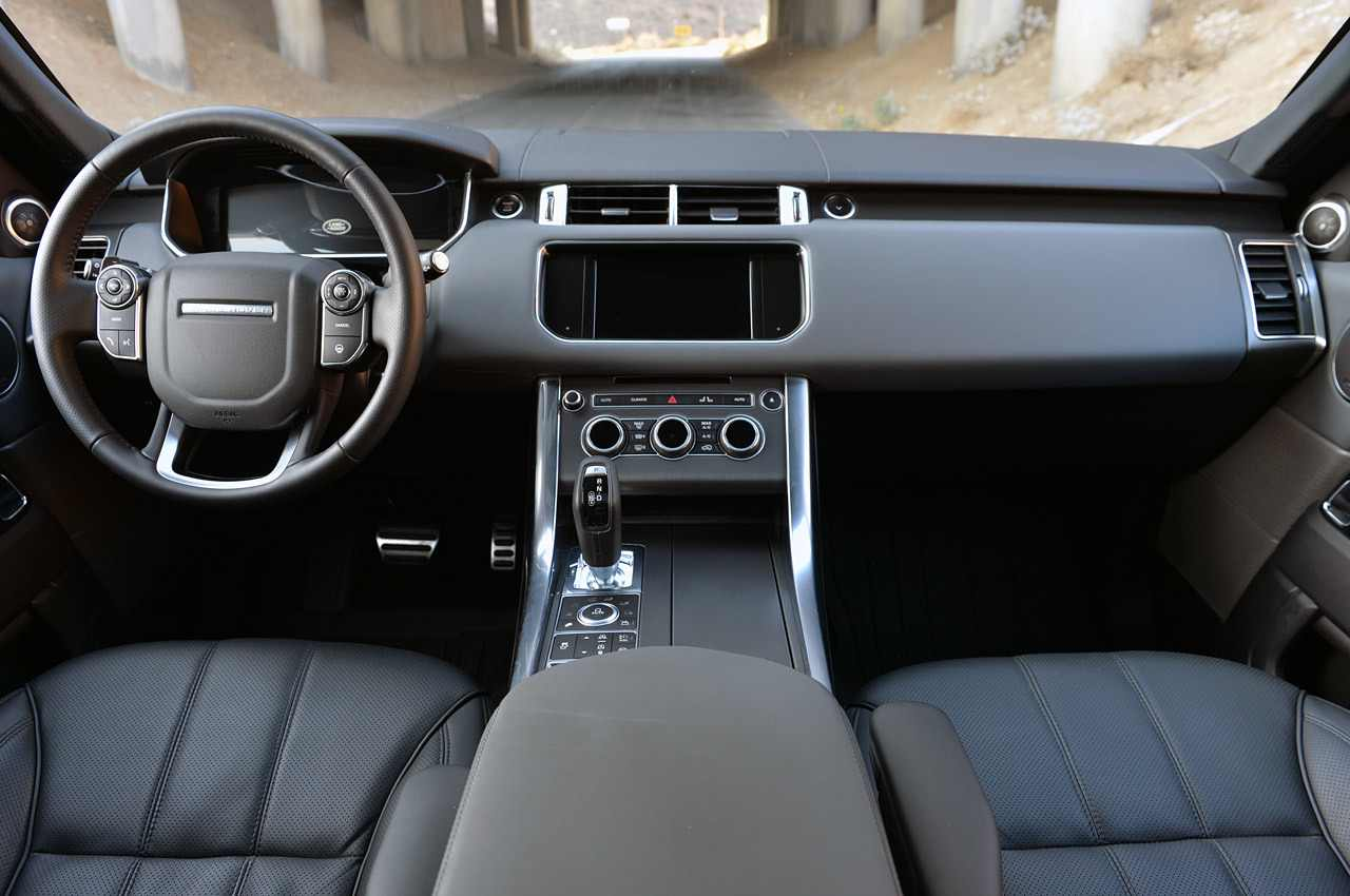 Range Rover Sport Interior 1080p Wallpapers Hd Wide Desktop Wallpaper